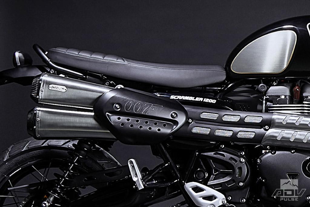 Triumph launches Scrambler 1200 James Bond Edition
