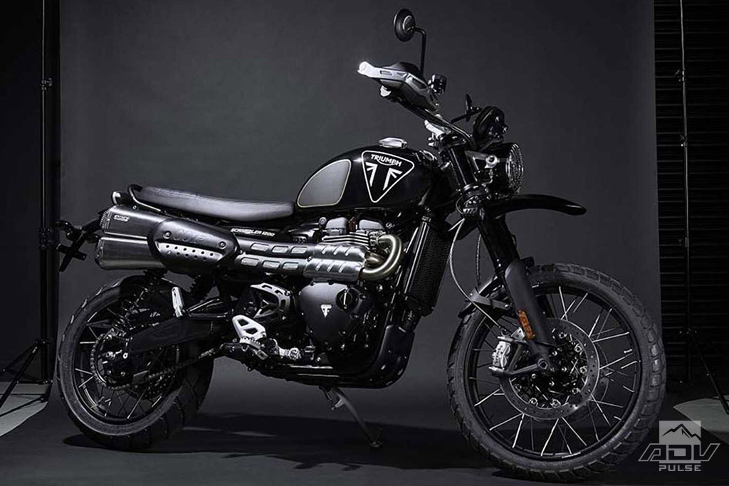 Premium 2020 Triumph Scrambler 1200 James Bond Edition