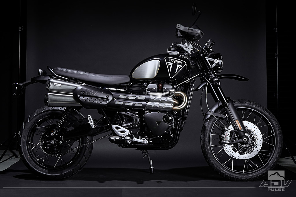 Triumph Scrambler James Bond Edition No Time To Die