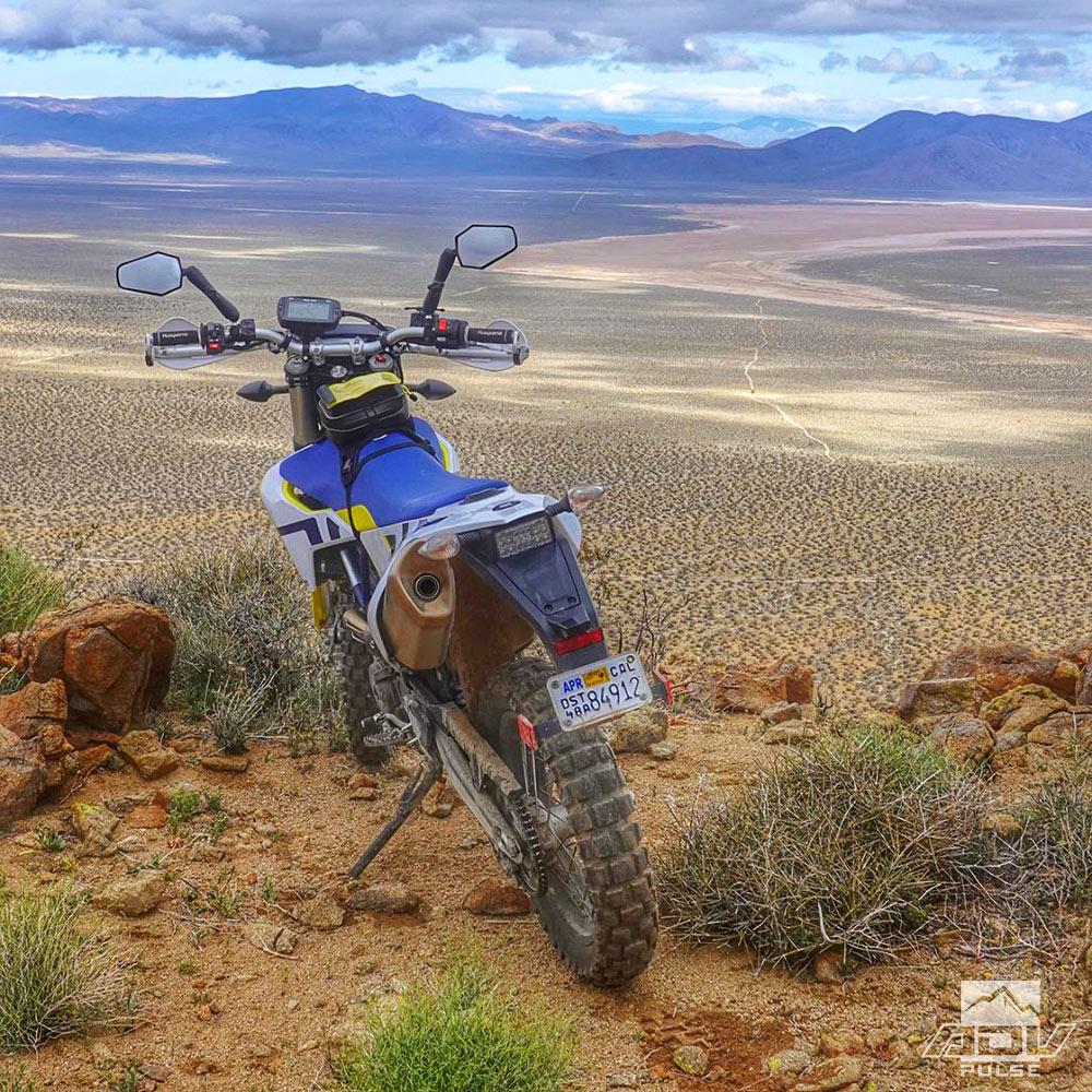 Desert riding paradise in the Mojave Desert.