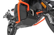 A New KTM 790 ADV Skidplate With All-In-One Sump/Tank Protection