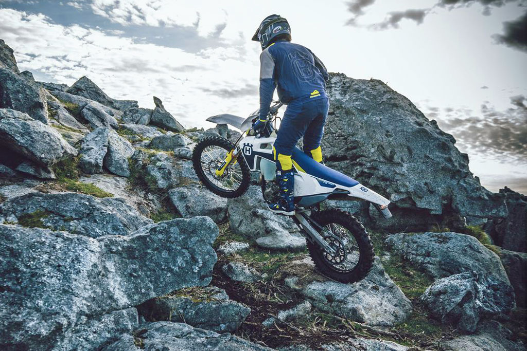 2021 Husqvarna FE 350 and FE 501 dual sport models