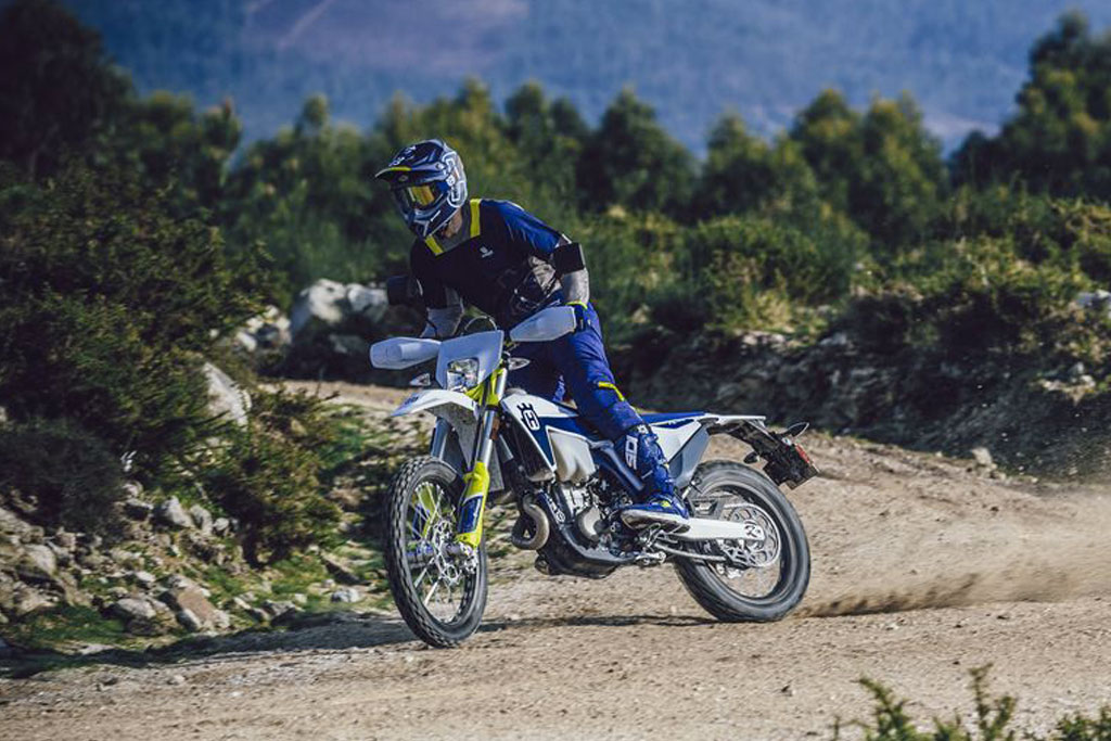2021 Husqvarna FE 350 and FE 501 enduro range
