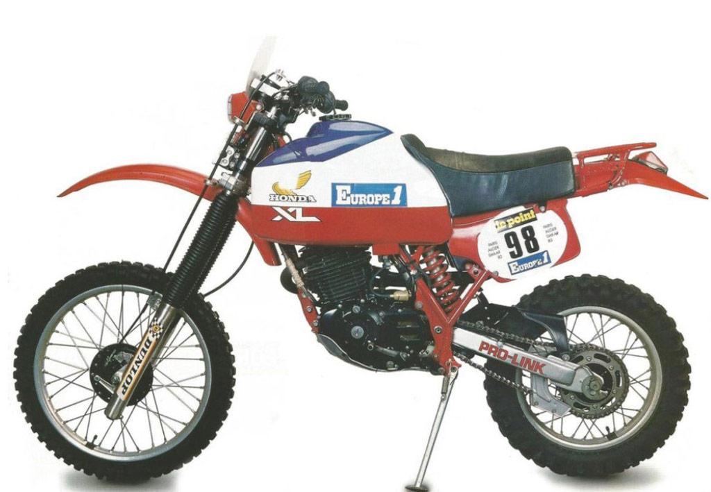 1982 Honda XL550R