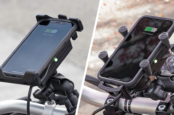 RAM Mounts Launches Wireless-Charging, Waterproof Phone Holders