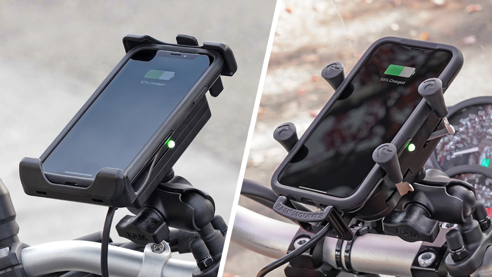RAM Mounts Waterproof Wireless charging phone mounts