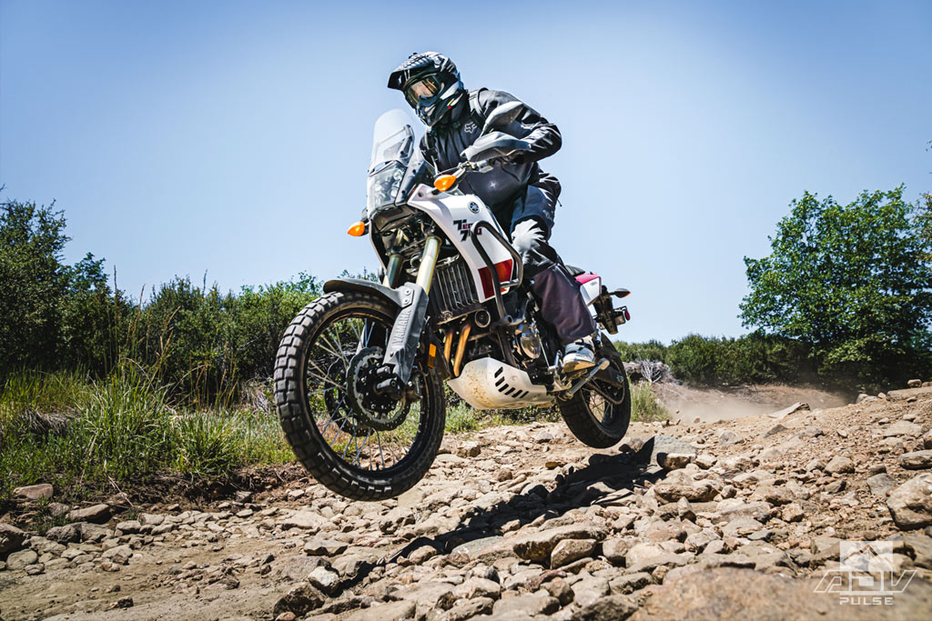 Yamaha Tenere 700 suspension