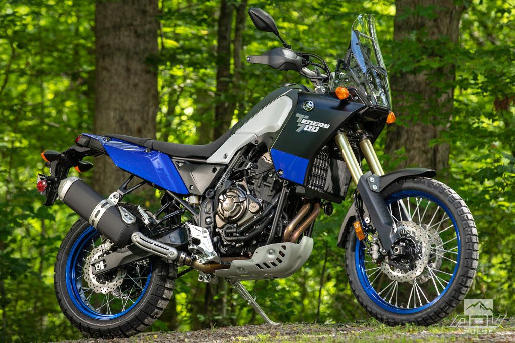 2021 Yamaha Tenere 700 Ice Blue