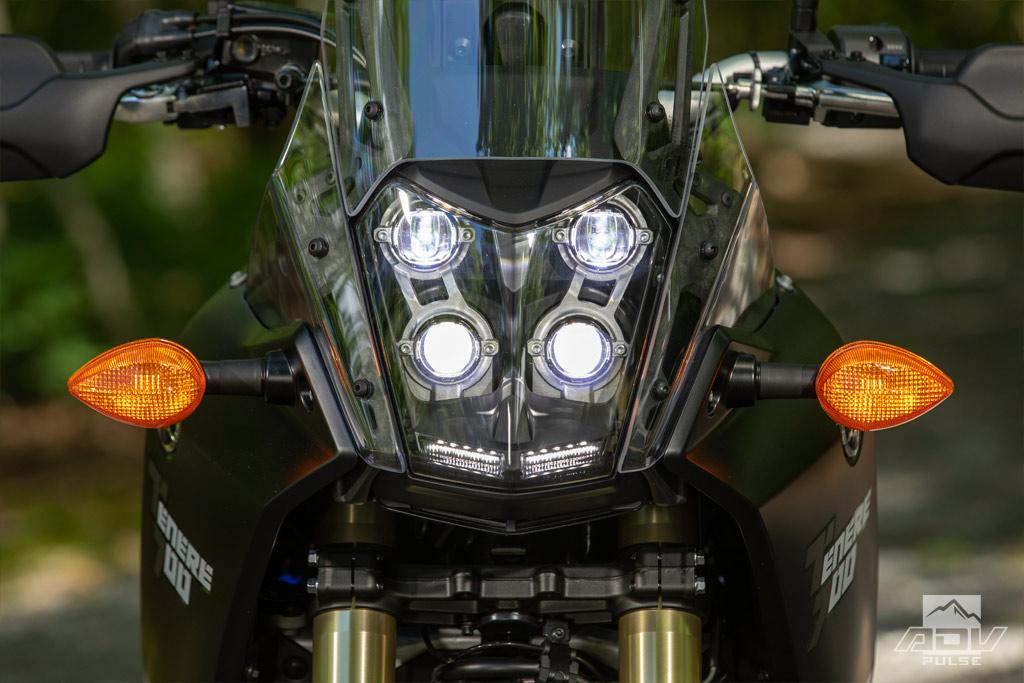 2021 Yamaha Tenere 700 LED headlight