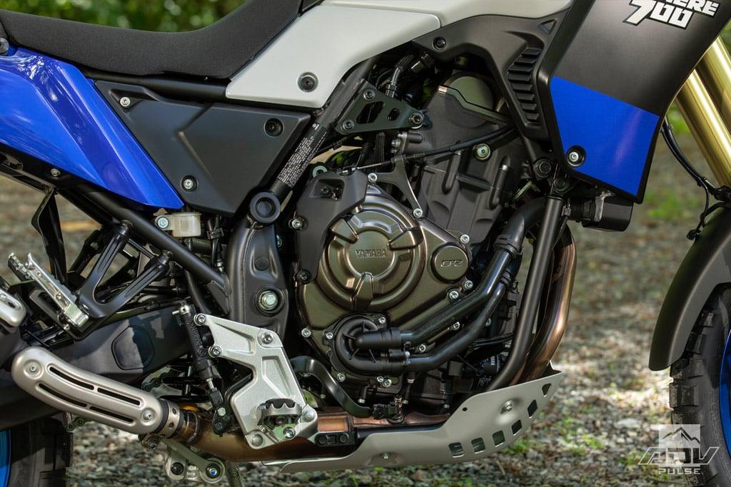 2021 Yamaha Tenere 700 engine