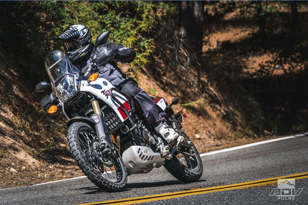 Yamaha Tenere 700 street test