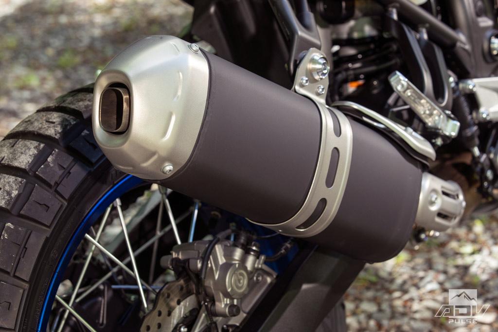2021 Yamaha Tenere 700 exhaust