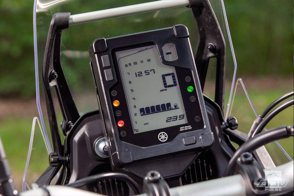 2021 Yamaha Tenere 700 LCD Display