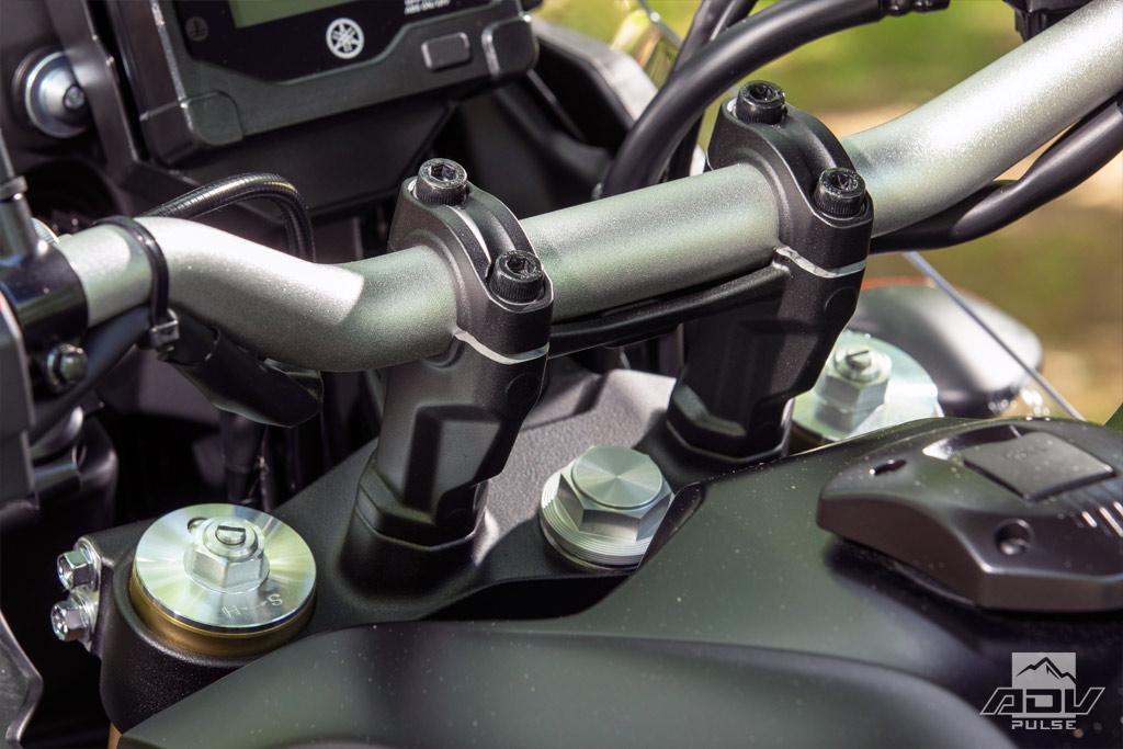 2021 Yamaha Tenere 700 handlebar mounts