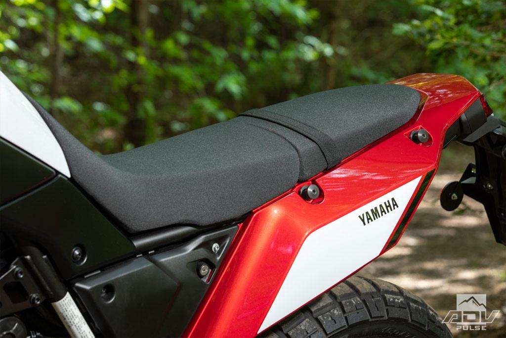 2021 Yamaha Tenere 700 stock seat