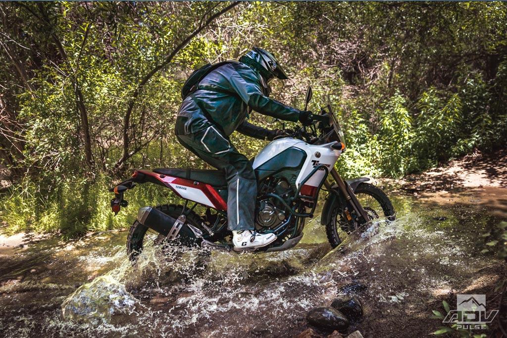 Yamaha Tenere 700 river crossing