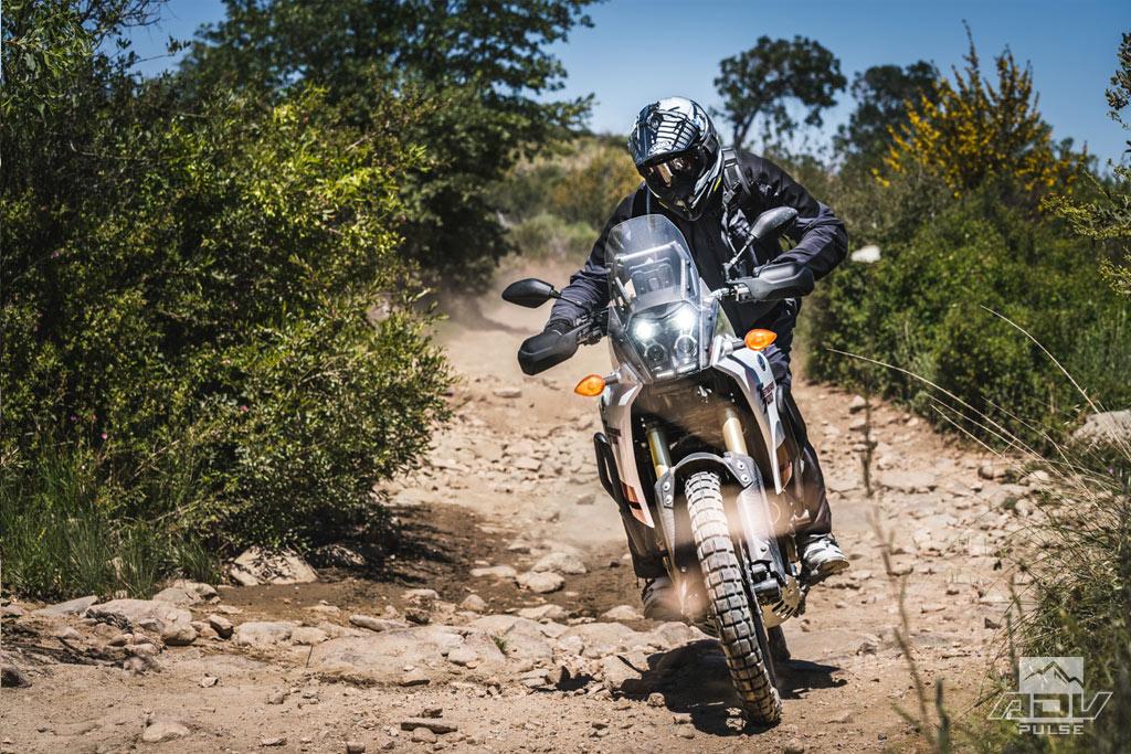 Yamaha Tenere 700 rocky terrain