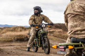 New Zealand Military Battle-Lab Tests UBCO 2WD E-Motorcycle