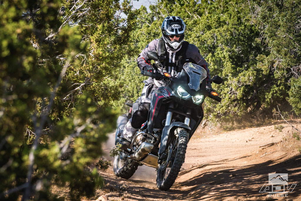 Improved off-road performance of the Honda Africa Twin CRF1100L