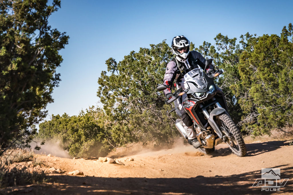 Africa Twin dirt roads
