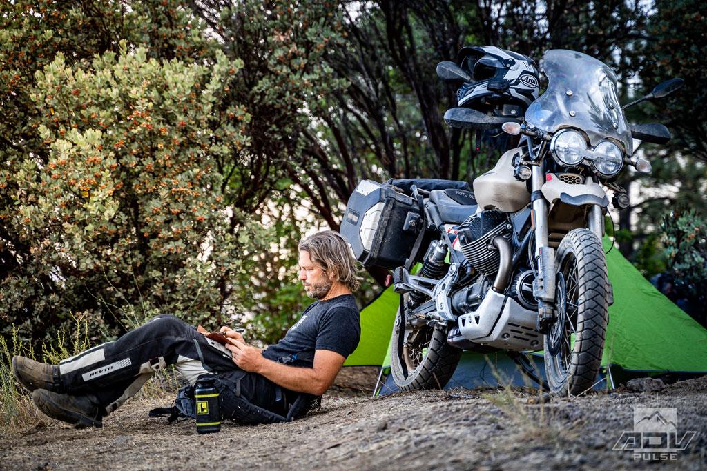 Motorcycle Camping Pewitt Ridge