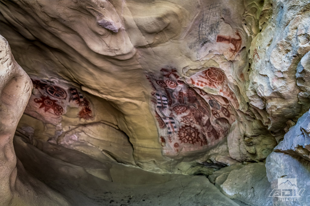 Chumash Painted Cave in the coastal mountains of California
