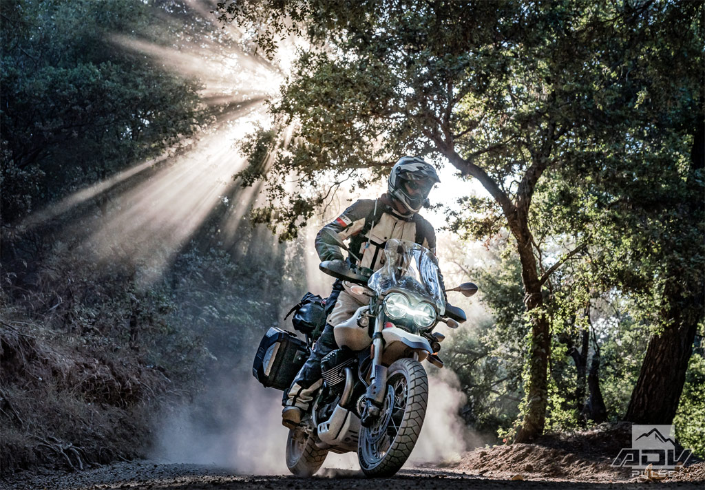 Motorcycle Camping in Big Sur