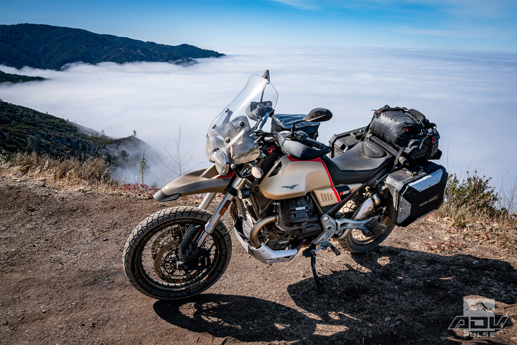 California Coast Ride above the clouds at San Martin Top.