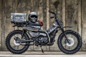 Honda's New CT125 Hunter Cub Trail Bike Gets Military Makeover