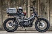 Honda's New CT125 Hunter Cub Trail Bike Gets Military Makeover