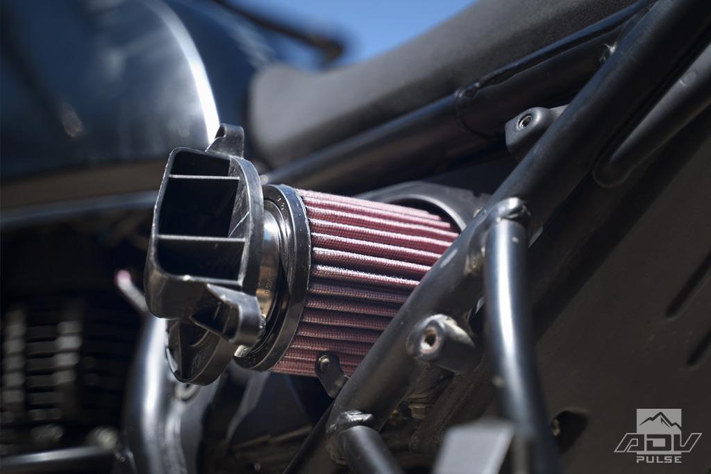 Royal Enfield Himalayan Mods K&N Air Filter
