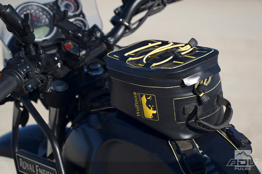 Royal Enfield Himalayan Mods Wolfman Waterproof Luggage System