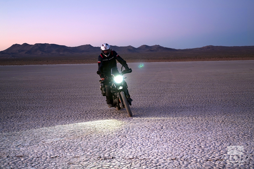 Royal Enfield Himalayan Mods cyclops LED bulb