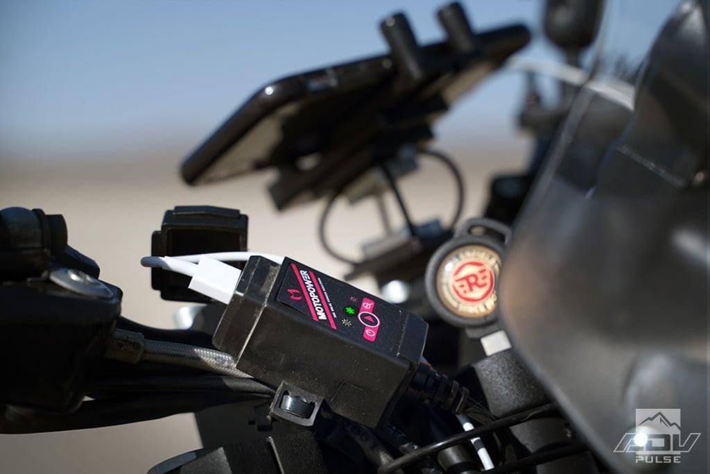 Royal Enfield Himalayan Mods Motopower USB