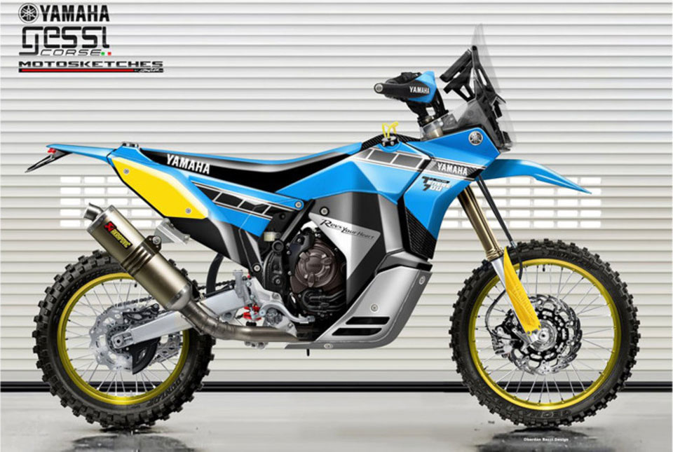 Adventure Bike Concept Tenere 700 Rally Racer