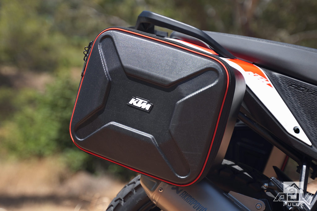 KTM 390 Adventure Accessories - side bags