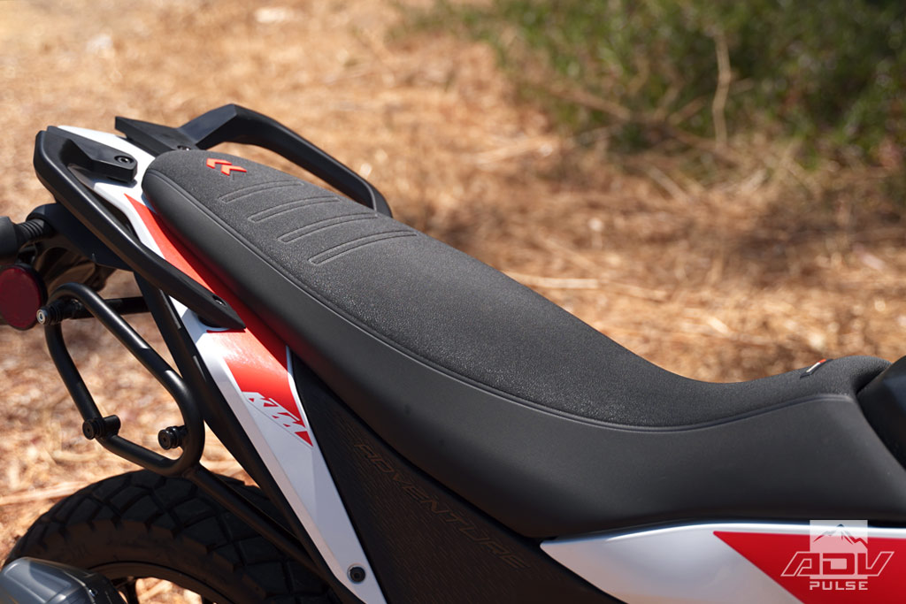 KTM 390 Adventure Accessories - tall seat.