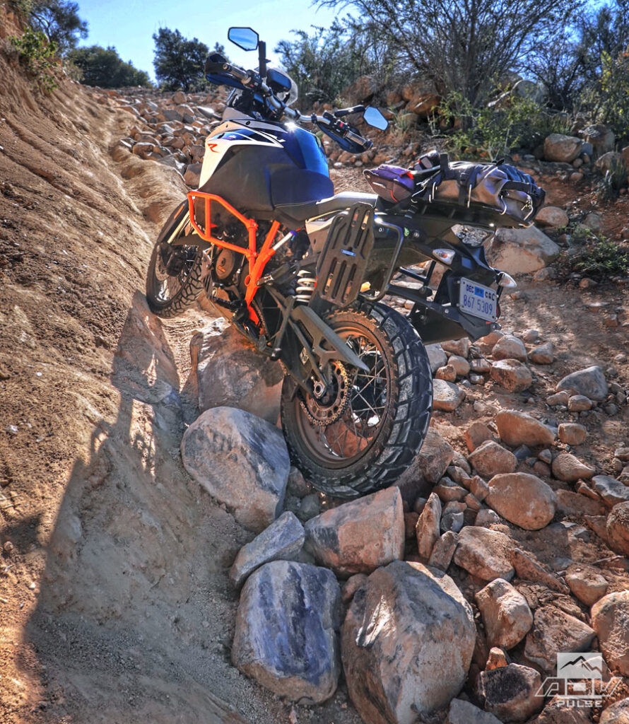 Dunlop Trailmax Mission Adventure Tire in extreme rocks