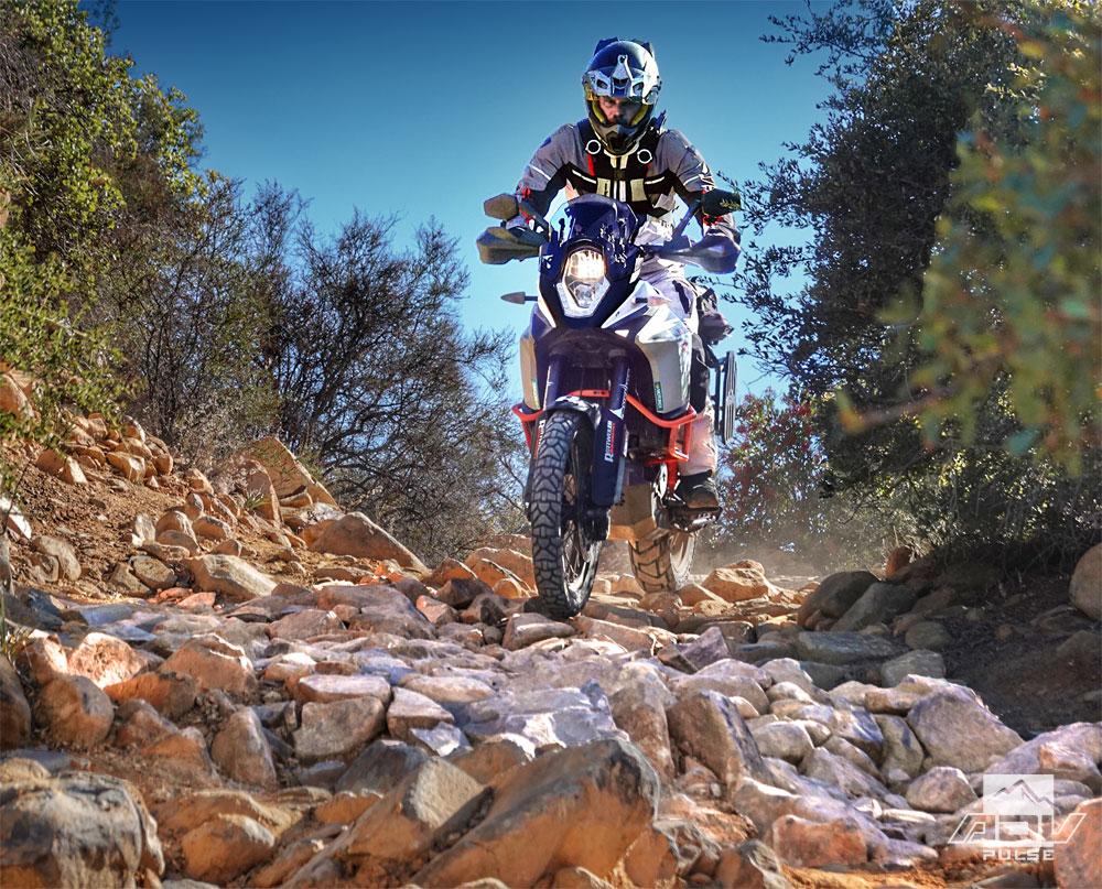 Dunlop Trailmax Mission rocky terrain
