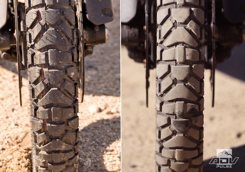 Dunlop Trailmax Mission front tire