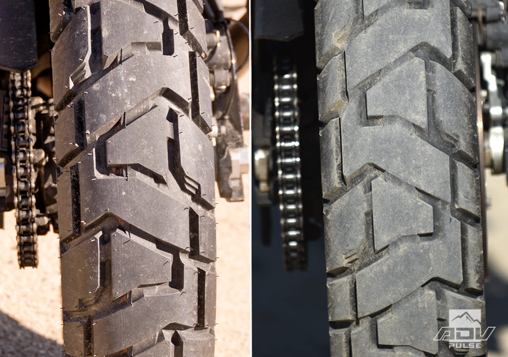 Dunlop Trailmax Mission Rear Tire