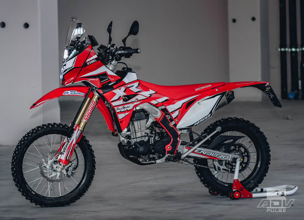 Honda CRF450L Adventure Kit