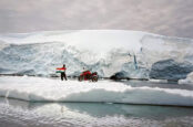 Rider Crosses Earth From Arctic to Antarctica On 400cc Bike