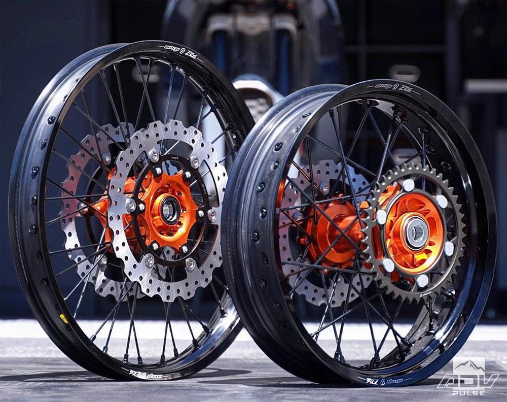 Warp 9 Racing Adventure Wheels for the KTM 990 Adventure