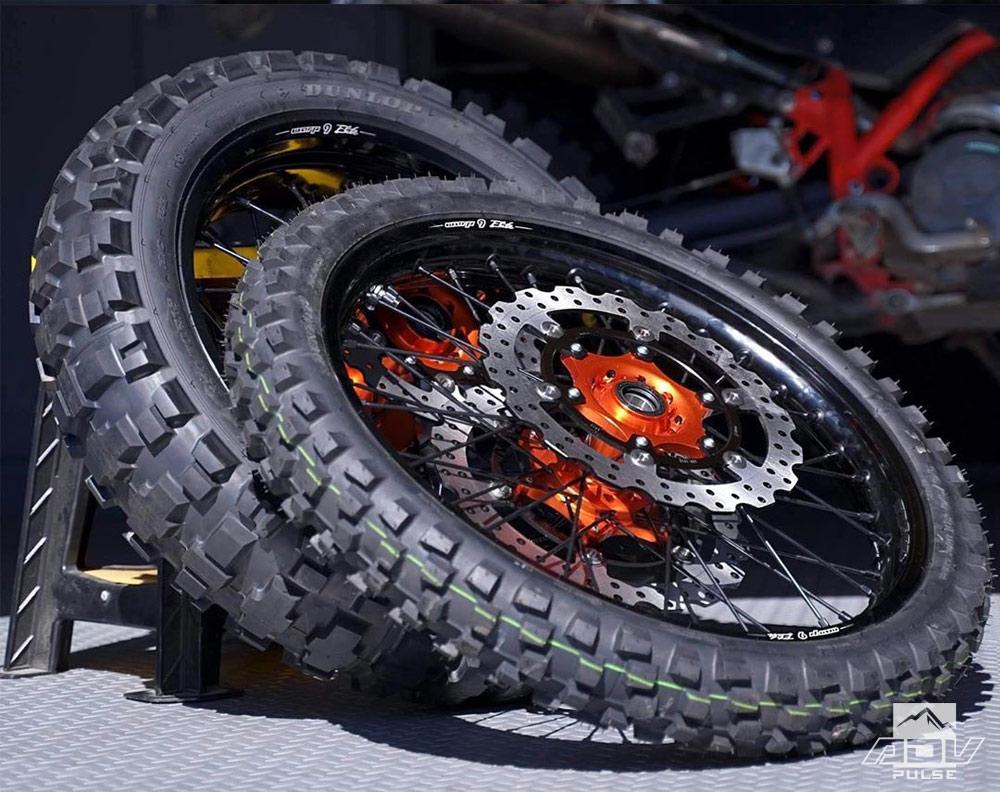 Warp 9 Racing Wheel Set for KTM