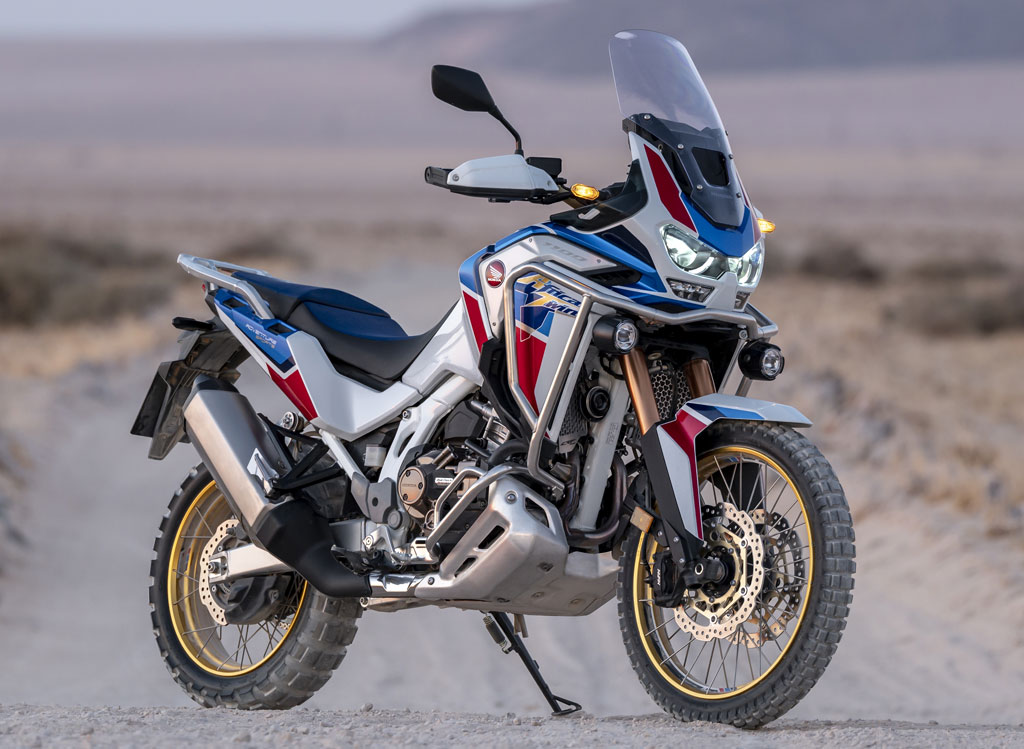 2020 Honda CRF1100 Adventure Sports Africa Twin history