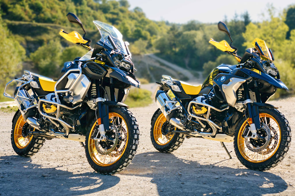 2021 BMW R1250GS and BMWR1250GS Adventure get updates