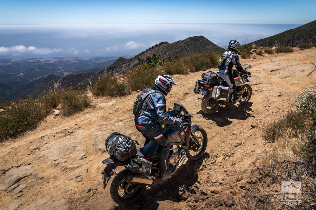 California Central Coast - East Camino Cielo Road