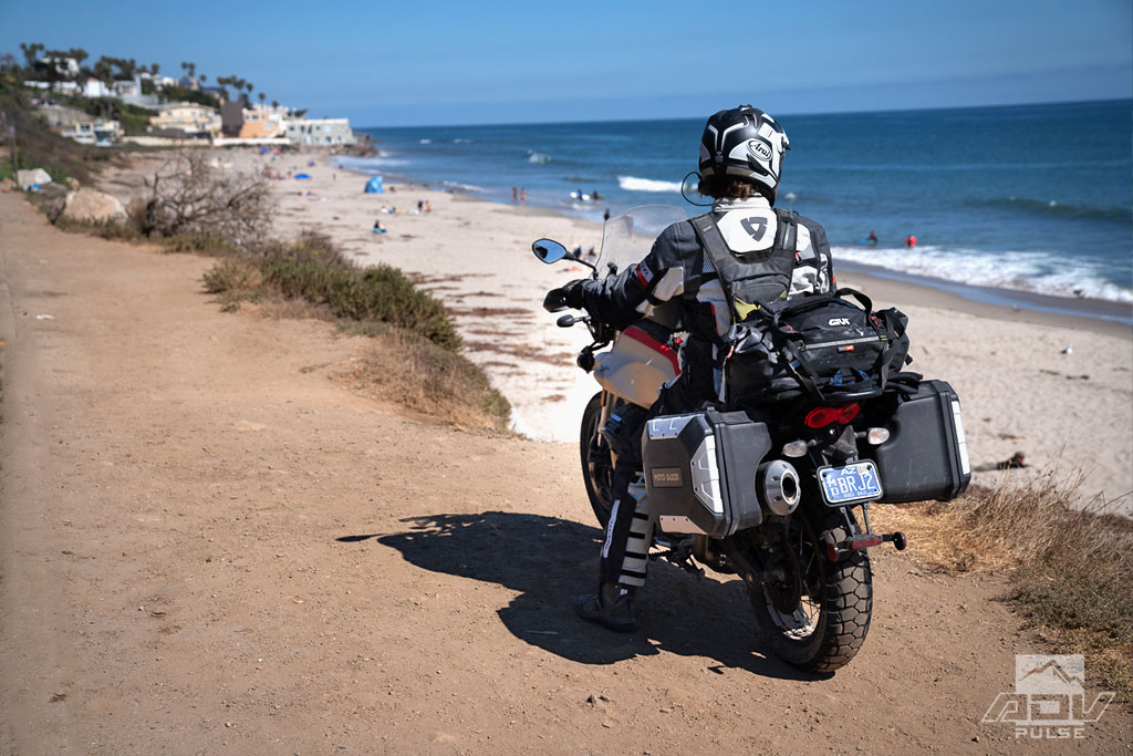 The beach in Malibu, CA
