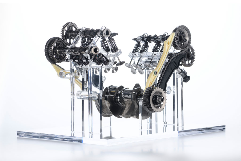 Ducati V4 Granturismo engine for Multistrada